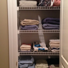 Contemporary Closet by Life Organized by Melissa