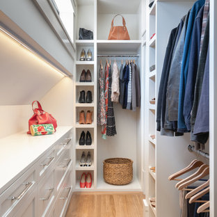 Inspiration for a transitional walk-in closet remodel in San Francisco & 75 Most Popular Walk-In Closet Design Ideas for 2018 - Stylish Walk ...