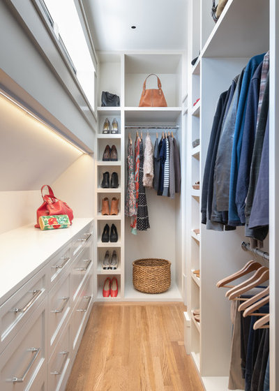 Transitional Wardrobe by Gast Architects