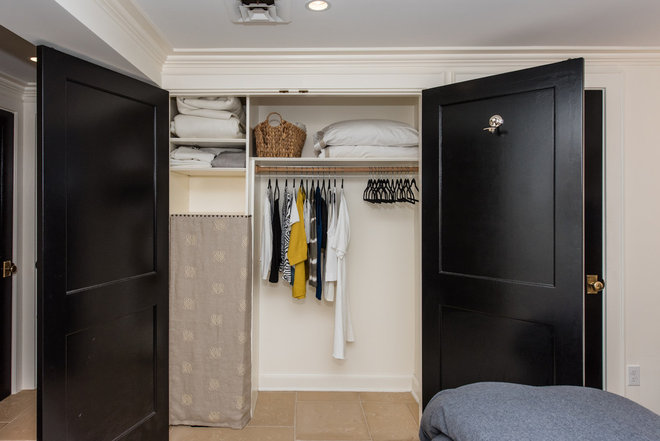 Transitional Closet by Finecraft Contractors, Inc.