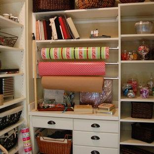 Example of a classic closet design in Atlanta