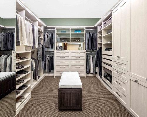 Bianco Walk In Closet Display   Campbell Showroom