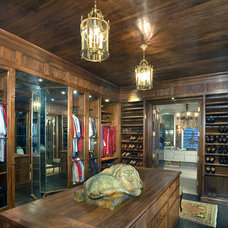 Rustic Closet by bill truitt wood works, inc.