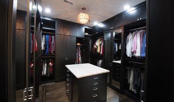 Black Master Closet