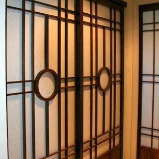 Black Walnut Soji Doors