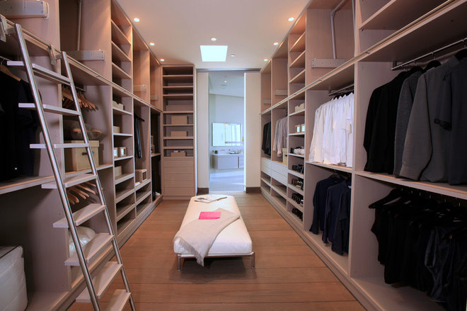Contemporary Closet by Josh Brown Design