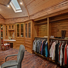 Traditional Closet by Envision Web