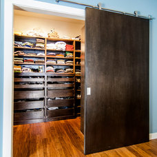 Contemporary Closet by Greenbrook Homes