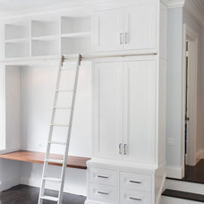 Transitional Closet by Hudson Cabinetry Design