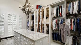 Boutique Style Master Closet