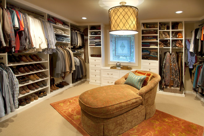Traditional Closet by Organized Spaces