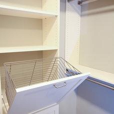 Contemporary Closet by Studio M Interiors