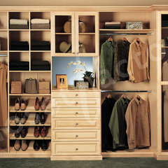 traditional closet by Kay Wade,  Closet Factory, VP-Head Designer