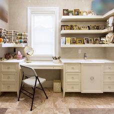 Contemporary Closet by Home & Stone