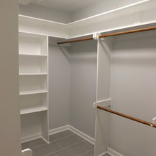 Traditional Closet by Wake Remodeling