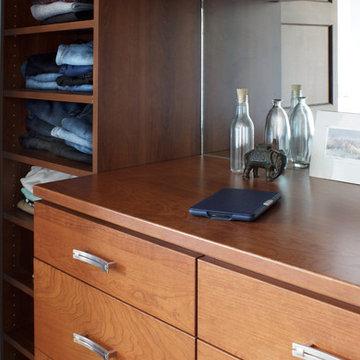 Built-In Closet Dresser