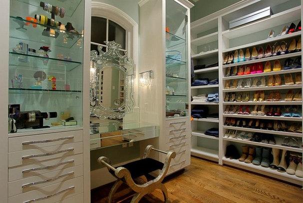 Contemporary Closet by Elizabeth Koval, ASID, CKD, CAPS