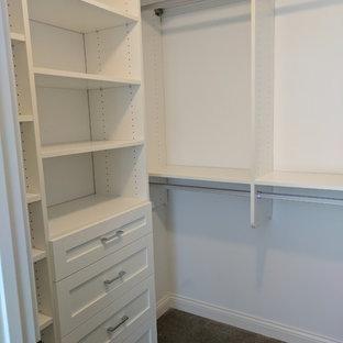 Burnsville White Walk-in Closet