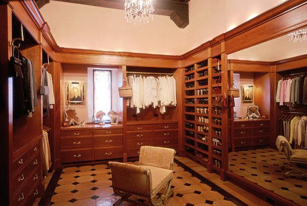 Mediterranean Closet by Bushman Dreyfus Architects