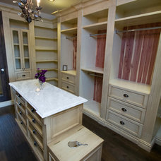 Mediterranean Closet by Kasis Construction Inc.