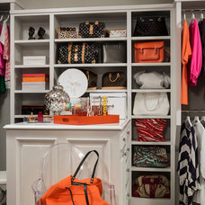 Transitional Closet by Martha O'Hara Interiors