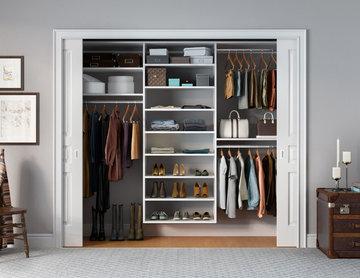 California Closets Reach In Closet