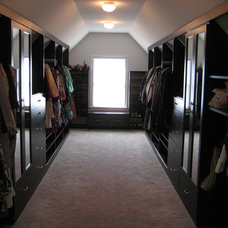 Traditional Closet by Cambridge Closets