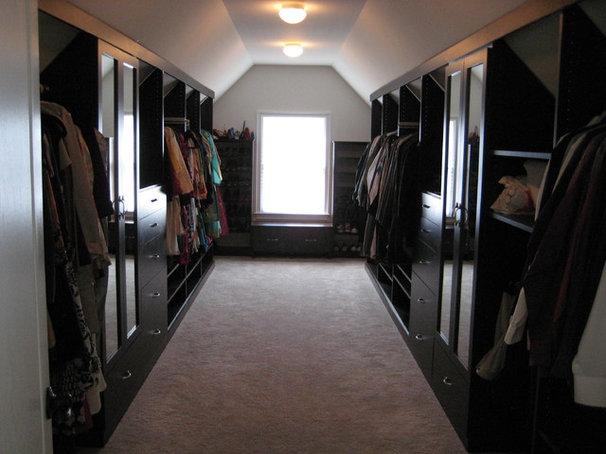 Traditional Closet by Cambridge Closets