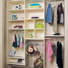 Modern Closet by Canyon Creek Cabinet Company