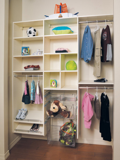 Modern Closet by Canyon Creek Cabinet Company
