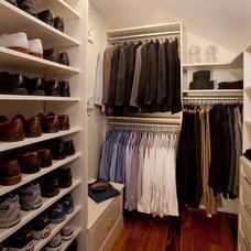 Traditional Closet by Capitol Closet Design