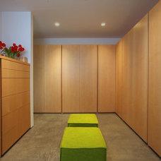 Modern Closet by Frank Hennessy Architect