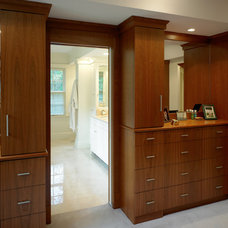 Traditional Closet by OLSON LEWIS + Architects