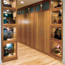 Traditional Closet by SRM Architecture and Interiors