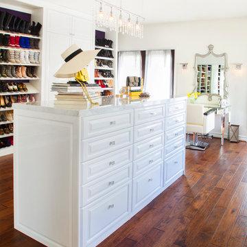 Celebrity Home Dressing Room