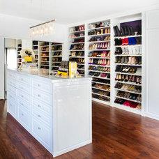 Contemporary Closet by Dannielle Albrecht Designs