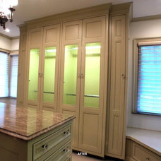 Traditional Closet by NJW Construction