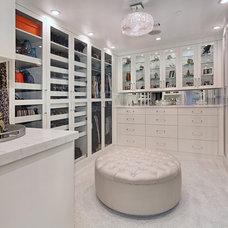 Contemporary Closet by Cantoni Irvine