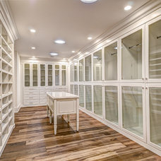 Traditional Closet by Dennis Reeves Inc
