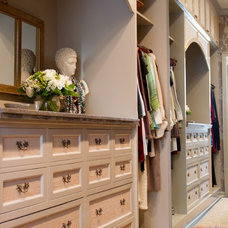 Traditional Closet by Charmean Neithart Interiors, LLC.