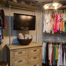 Contemporary Closet by Emery Design & Woodwork