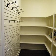 Traditional Closet by Castlestone Homes LLC