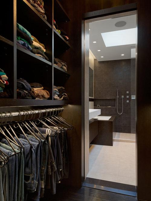 Fotos de armarios y vestidores dise os de armarios for Closets abiertos pequenos