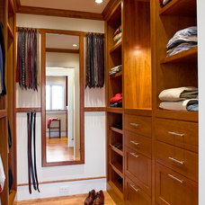 Traditional Closet by Platt Builders