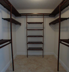 traditional closet by Closets and Shelving, LLC