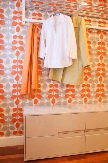 Contemporary Closet by Three Legged Pig Design