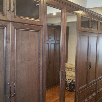 Chicago, IL Master Bathroom & Bedroom. Four Season room into a Master Closet