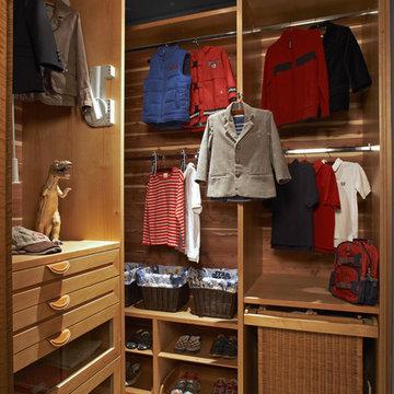 Children's Closet - Newport Beach, CA Residence