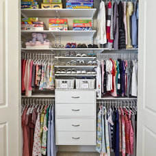 Contemporary Closet by Organized Living