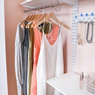 Inredning av en garderob